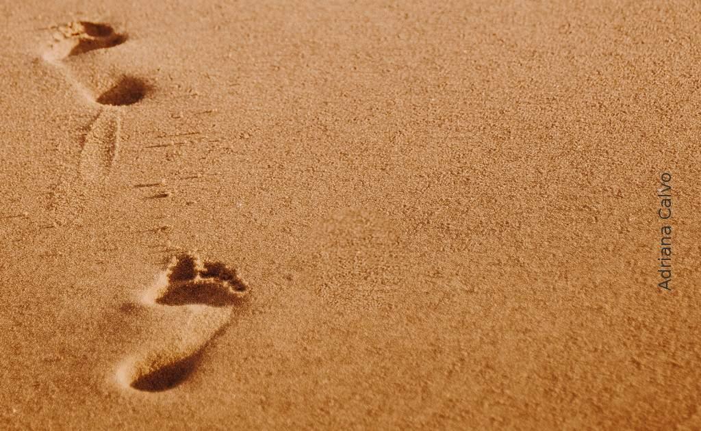 Subliminal Fußspuren